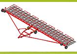 Сцепка широкозахватная гидрофицированная СШГ-18